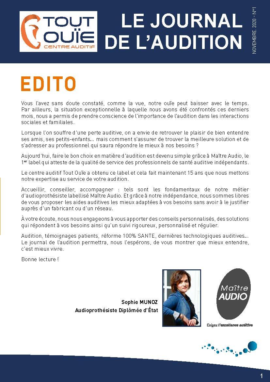 JOURNAL DE L'AUDITION - TOUT OUÏE MAITRE AUDIO JASSANS RIOTTIER_Page_1